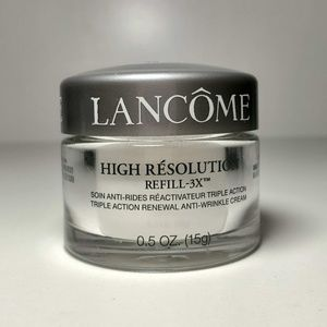 Lancome high Resolution Refill-3X renewal cream